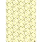 il7026 | illi | Nokta - Ocker-Weiss - Geschenkpapier Bogen 50 x 70 cm