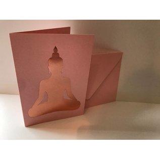 pu035 | Pure | Buddha - Klappkarte B6