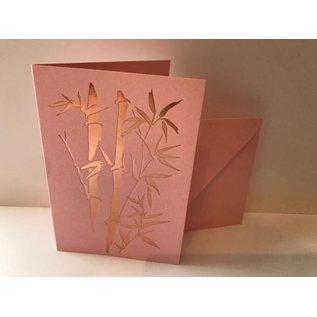 pu041 | Pure | Bamboo - folding card  B6