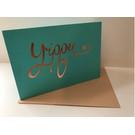 pu050 | Pure | Yippee - folding card  B6