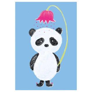 SG156 | schönegrüsse | Circus – Panda - Postkarte A6