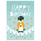 SG154 | schönegrüsse | Happy – Little Boy - Postkarte A6