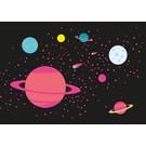lu030   luminous   Milky Way - postcard A6