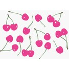 lu040 | luminous | Pink Cherries - postcard A6