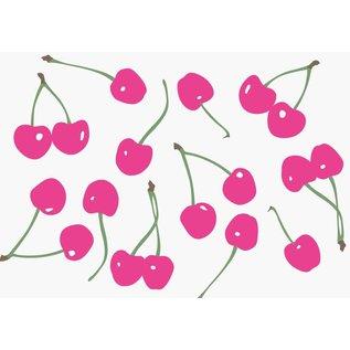 Postkarte - Pink Cherries