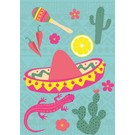 lu043 | luminous | Mexican - Postkarte A6