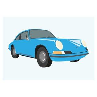 cl002 | Classic | 911 Porsche, 1965 - postcard A6