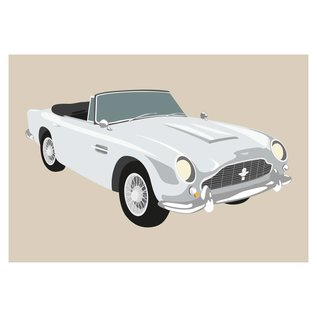 cl011 | Classic | Aston Martin DB9, 1965 - postcard A6