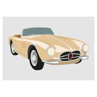 cl012 | Classic | Maserati Spyder, 1957 - Postkarte A6