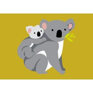 crissXcross Postkarte - Koalas