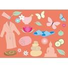Postkarte - Wellness-Gutschein