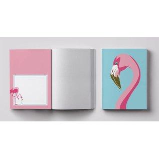 cc803 | crissXcross | Flamingo - Notizheft  A6