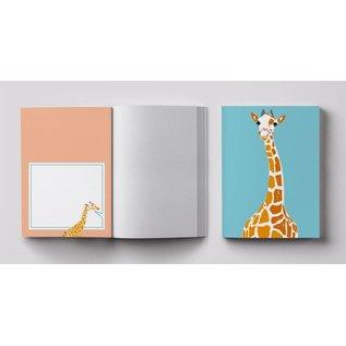 crissXcross Notizheft A6 - Giraffe