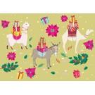 ccx002 | crissXcross | Pack Animals - postcard A6