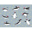 crissXcross Postkarte - flying pinguin