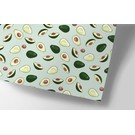 cc709   crissXcross   Avocado - Geschenkpapier Bogen 50 x 70 cm
