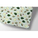cc709 | crissXcross | Avocado - wrapping paper Bogen 50 x 70 cm