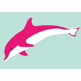 Postkarte - Delphin