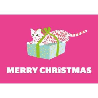 luminous Postkarte - Merry Christmas
