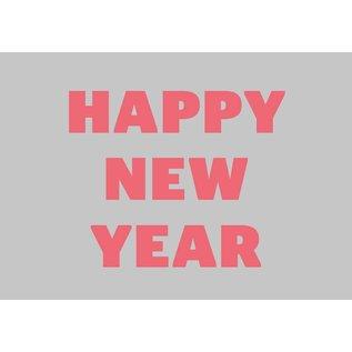 Postkarte - Happy New Year