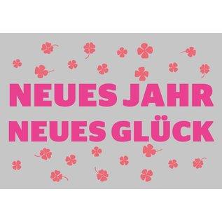 Postkarte - Neues Jahr Neues Glück