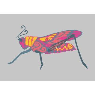 Postkarte - Grasshoper
