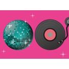 Postkarte - Disco