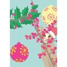 lu078 | luminous | Christmas Cat - Postkarte A6