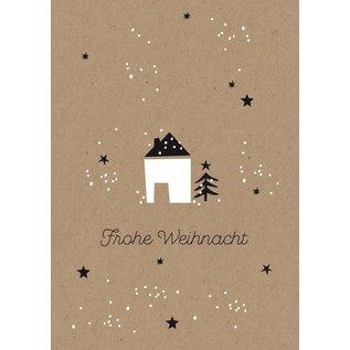Postkarte - Häuschen