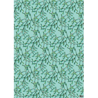 il7030 | illi | Gift Wrap Mistel - wrapping paper Bogen 50 x 70 cm