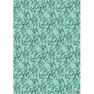 il7030 | illi | Mistel - Geschenkpapier Bogen 50 x 70 cm