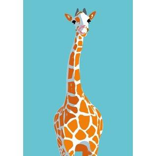 Druck A4 - Giraffe