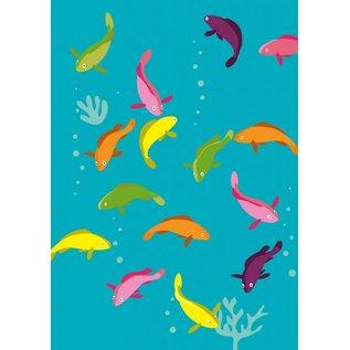 Druck A4 - Goldfische