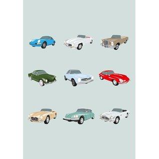 Druck A4 - Autoklassiker der 50er und 60er