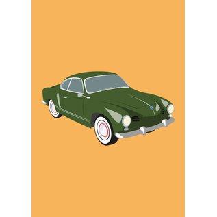 Druck A4 - VW Karman Ghia, 1950