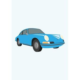 Classic Druck A3 - 911 Porsche, 1965