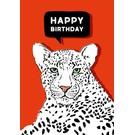 Folded Card - Kimbu Happy Birthday