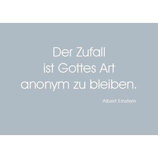 Wortsinn - Der Zufall... Albert Einstein