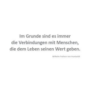 Wortsinn - Im Grunde... Wilhelm Freiherr von Humboldt