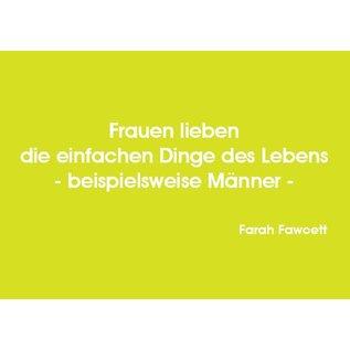 Wortsinn - Frauen lieben... Farah Fawcett