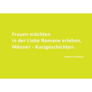 Wortsinn - Frauen möchten in der Liebe... Daphne de Maurier