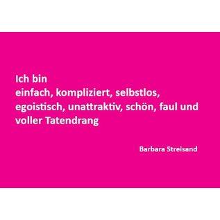 Wortsinn - Ich bin einfach, kompliziert, ... Barbara Steisand