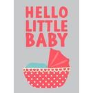 lu084 | luminous | Little Baby - postcard A6
