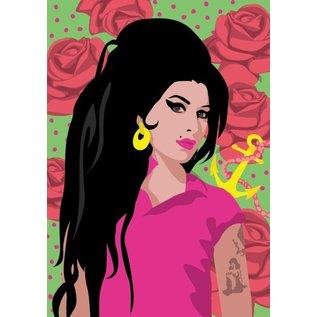 Postkarte A5 - Amy