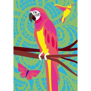 lu905 | luminous | Parrot - Postkarte DIN A5