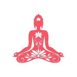 Postkarte A5  -Buddha