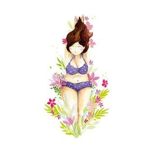 tg040   Tabea Güttner   Beauty - folding card  B6