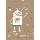 Postkarte - Happy Robo