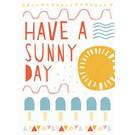 df024 | Designfräulein | Sunny Day - postcard A6