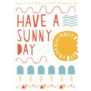 Postkarte - Sunny Day